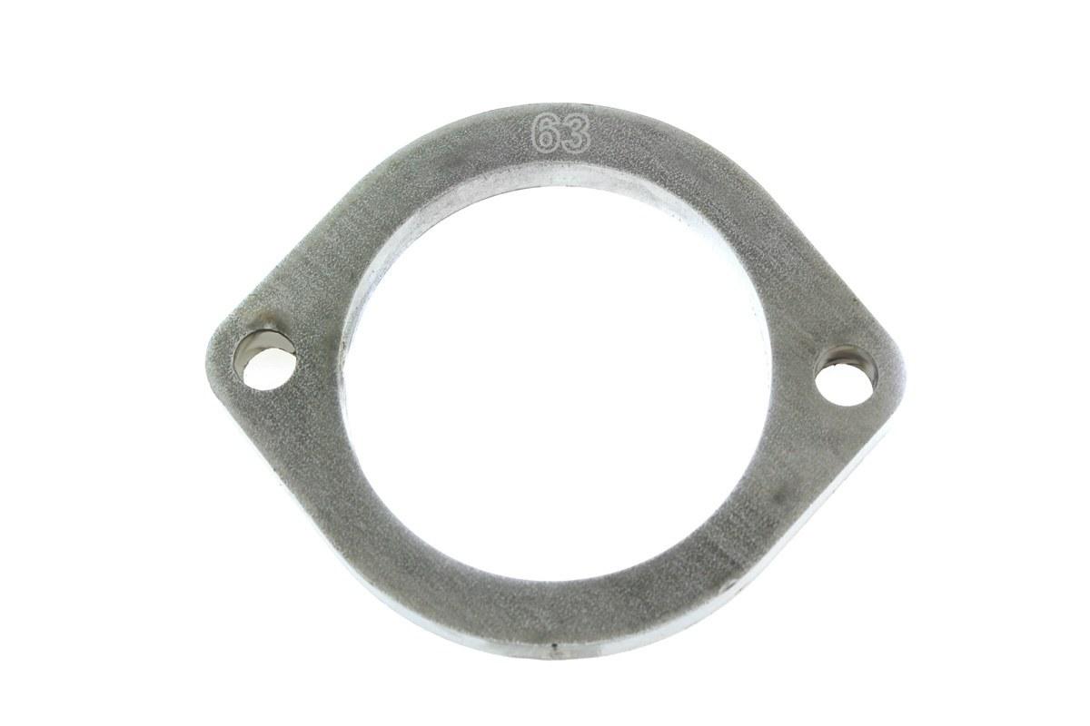 Flansza łącznik układu wydechowego 63mm 2 śruby - GRUBYGARAGE - Sklep Tuningowy